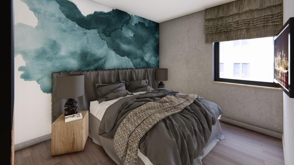 Lakás hálószobájához inspiráció, Práter utca, Budapest, Corvin-negyed