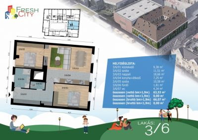 Amerikai konyhás lakás, 66 m2, 61.9M Ft
