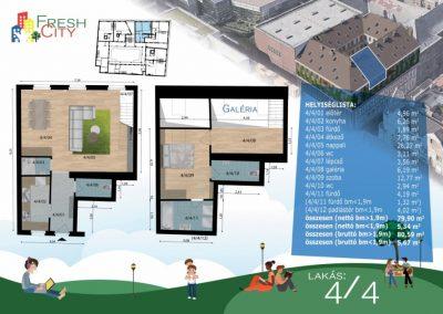 Galériás lakás, 83 m2, 79.9M Ft