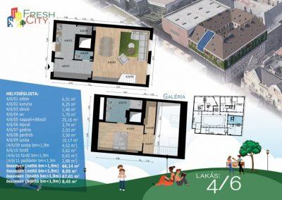 Galériás lakás, 71 m2, 67.9M Ft
