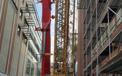 Helyzetjelentés az építkezésről, december